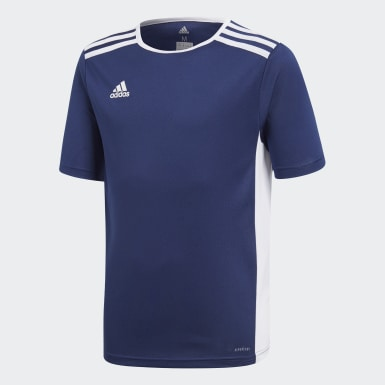 Youth 8-16 Years Training Blue Entrada Jersey