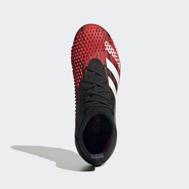 Bota de fútbol Predator Mutator 20.1 césped natural seco Negro Niño Fútbol