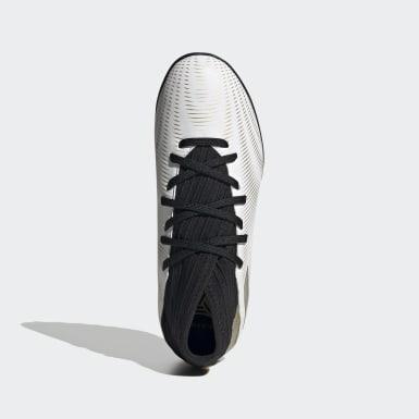 Barn Fotboll Vit Nemeziz .3 Turf Boots