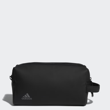 Men Golf Black Tour Two-Zip Pouch