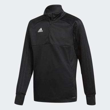 Camiseta manga larga entrenamiento Condivo 18 Multisport Negro Niño Fútbol