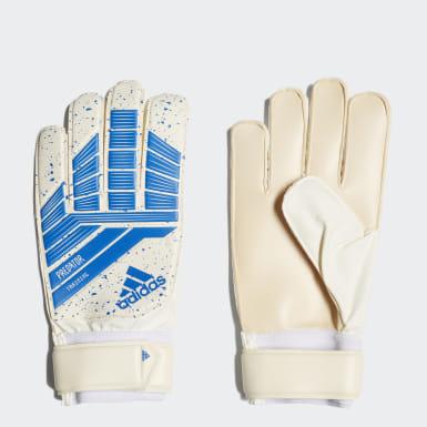 Football Blue Predator Training Goalkeeper Gloves