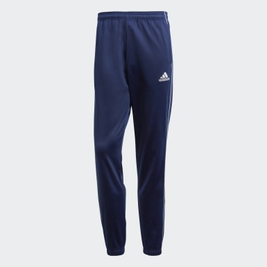 Men Training Blue Core 18 Tracksuit Bottoms