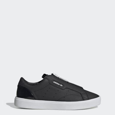 Frauen Originals adidas Sleek Zip Schuh Schwarz