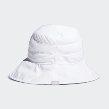 Women Golf White UV Bucket Hat