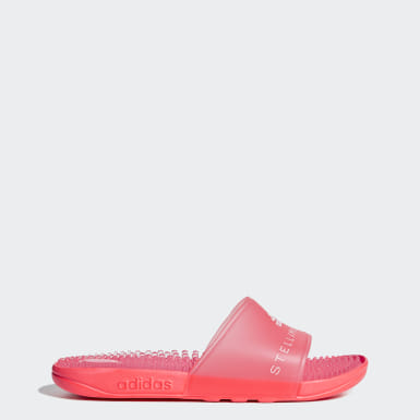 Women adidas by Stella McCartney Pink Adissage Slides
