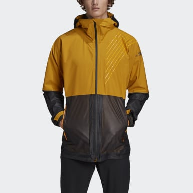 Men TERREX Gold Terrex 3-Layer Zupahike Rain Jacket