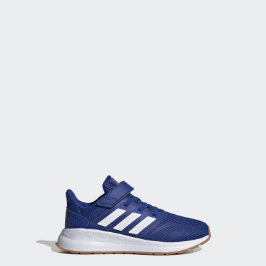 Children Running Blue Run Falcon Shoes