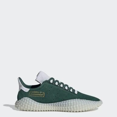 adidas Spezial schoenen olijf groen oranje in de WeAre Shop