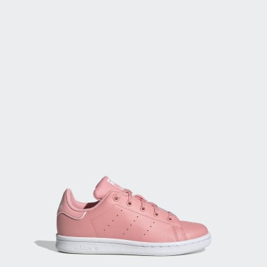 Girls Originals Pink Stan Smith Shoes
