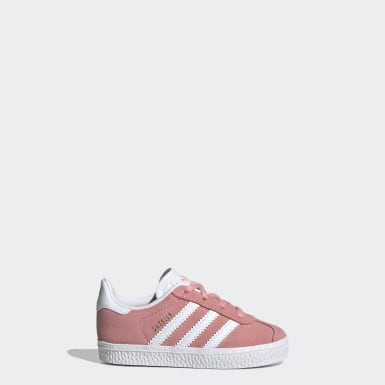 Kids Originals Pink Gazelle Shoes