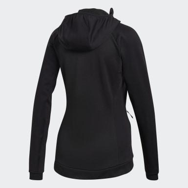 Veste polaire Terrex Stockhorn Hooded noir Femmes De Plein Air