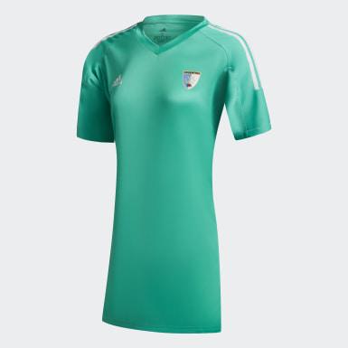 Camiseta de Arquera LEONAS Verde Hombre Hockey