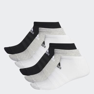 เทรนนิง สีเทา ถุงเท้าโลว์คัท (6 คู่)