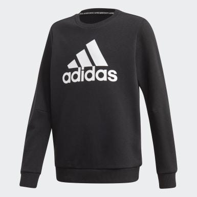 Sweat-shirt Must Haves Crew Noir Garçons Training