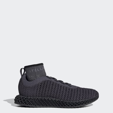 Women adidas by Stella McCartney Grey adidas by Stella McCartney Alphaedge 4D Shoes
