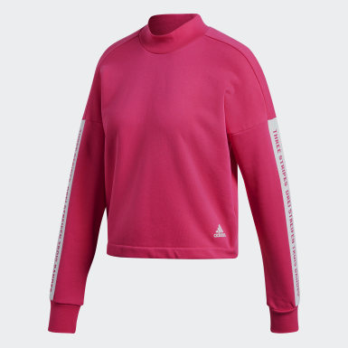 Women Athletics Pink Sport ID Sweatshirt