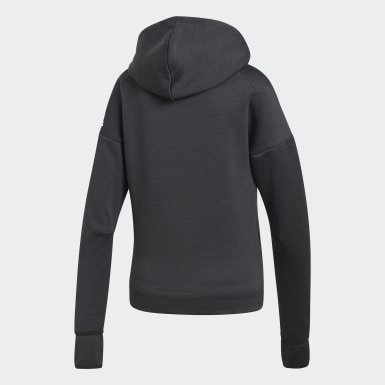 Women Athletics Black adidas Z.N.E. Fast Release Hoodie