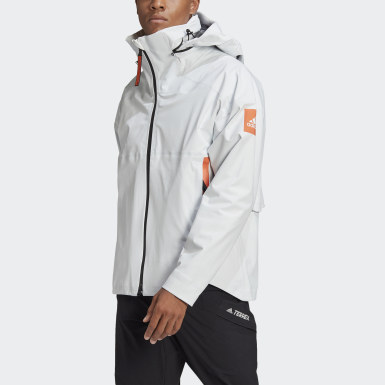 Chaqueta impermeable MYSHELTER Blanco Hombre Outdoor Urbano