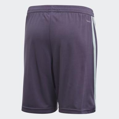 Kids Football Purple FC Bayern Away Shorts