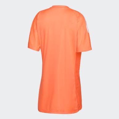 LEONAS GK JSY W Naranja Hombre Hockey