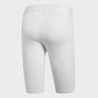 белый Укороченные тайтсы Alphaskin Sport
