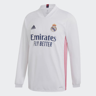 Heren Voetbal Wit Real Madrid 20/21 Thuisshirt
