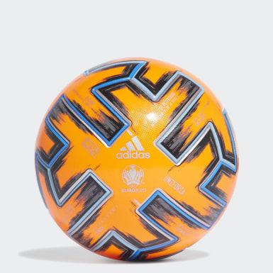 Futbal oranžová Lopta Uniforia Pro Winter