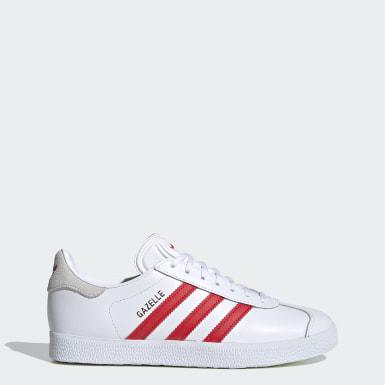 Frauen Originals Gazelle Schuh Weiß