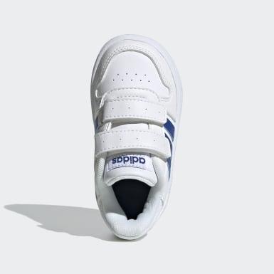 Kids Basketball White Hoops 2.0 Shoes