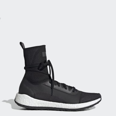 Women adidas by Stella McCartney Black Pulseboost HD Shoes