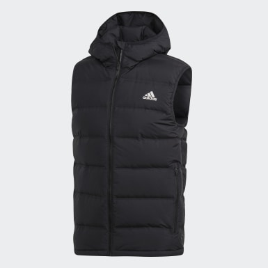 Mænd Urban Outdoor Sort Helionic Hooded dunvest