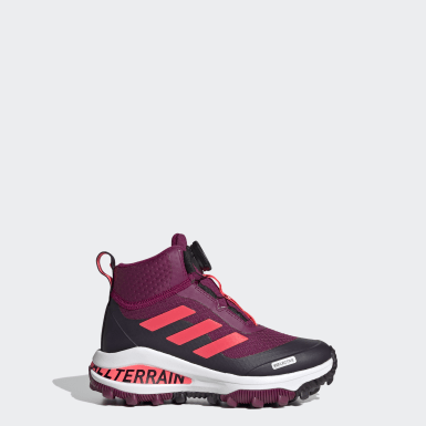 Girls Running Burgundy Fortarun Running/Hiking Shoes 2020