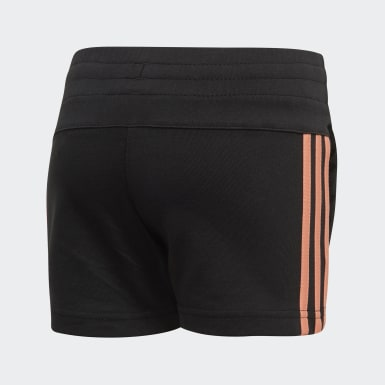 Pantalón corto Little Girls Knitted Negro Niña Athletics