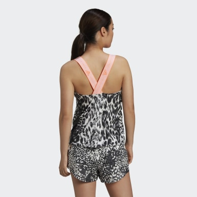 Dames adidas by Stella McCartney Wit adidas by Stella McCartney TRUEPURPOSE Loose Tanktop