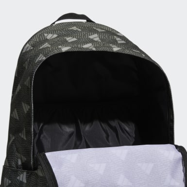Training Green Classic Allover Print Backpack