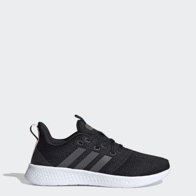 Sapatos Puremotion Preto Mulher Running