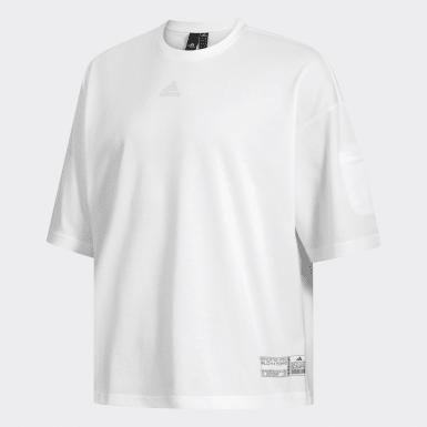 Camiseta ID Branco Homem Athletics