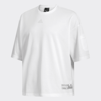 Men Athletics White ID Tee
