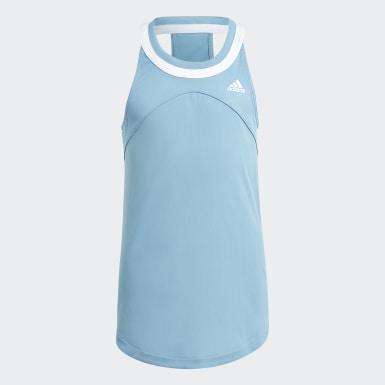 Camiseta sin mangas Club Tennis Azul Niña Tenis