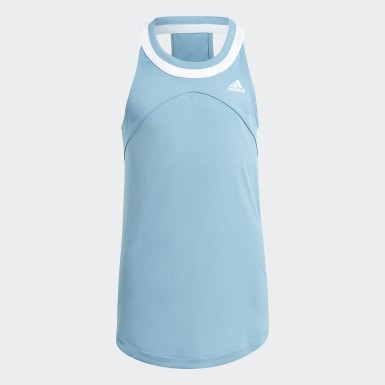 Girls Tennis Blå Club Tennis tanktop