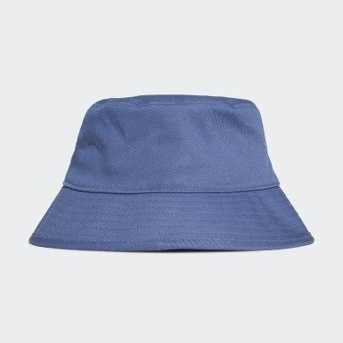 Cappello Trefoil Bucket Blu Originals