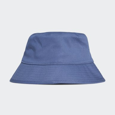 Gorro Trefoil Bucket Azul Originals