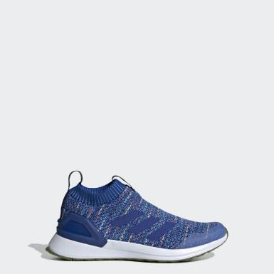 Børn Løb Blå RapidaRun sko