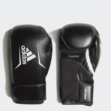 Boxen Speed 100 Boxhandschuh Schwarz