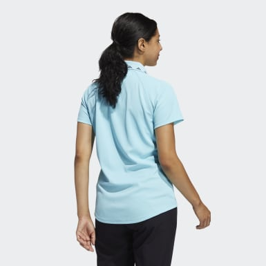 Frauen Golf Equipment Primegreen Poloshirt Blau