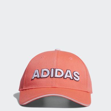 Women Golf Orange Twill Cap
