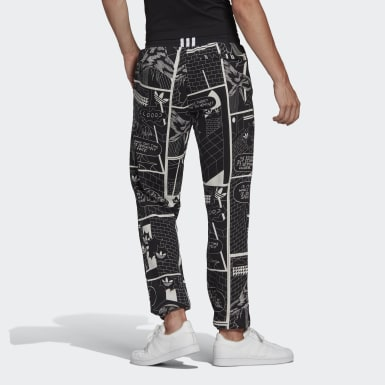 Men Originals Black R.Y.V. Graphic Sweat Pants