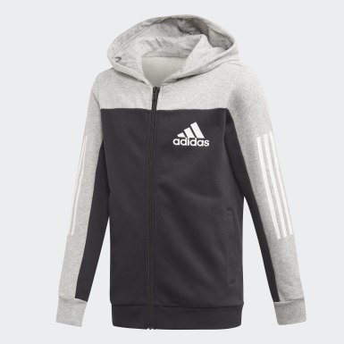 Youth Training Grey Sport ID Hoodie