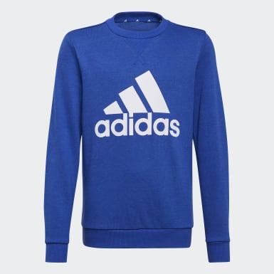 Boys Sport Inspired Blue Essentials Sweatshirt